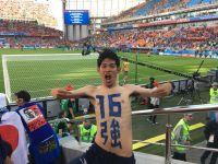 セネガル戦で客席からヘディングした芸人に反響「ワールドカップの影響力はすごい」
