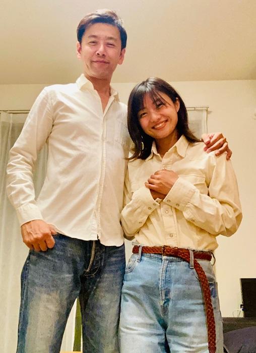 ゆりえ、夫・大浦龍宇一との笑顔ショットを公開「今だけ21歳差夫婦です ...