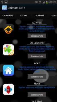 iOS7風のホーム画面を「Nova Launcher」等で手軽に作れるアイコンテーマ