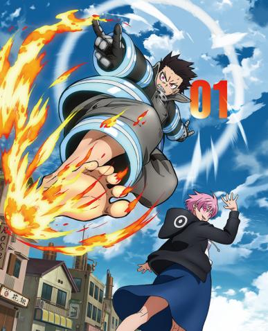 炎 々 ノ 消防 隊 dvd