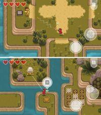 2D「ゼルダ」風の箱庭RPGが無料化!釣り竿を使った「引っ張りアクション」で島々を冒険しよう!