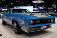 【シカゴオートショー2017】フォード、チャリティのために新車同然にレストアされた1971年型「マスタング マック1」を展示