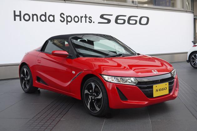 Honda S66 >> ホンダ、軽自動車の新型オープン・スポーツカー「S660」を発表!(後編)(2015年3月31日) - エキサイトニュース(2/6)