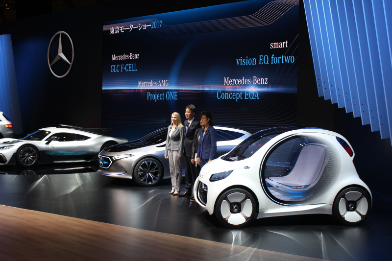 【東京モーターショー2017】smartは、アジア初公開の「smart vision EQ fortwo」とオンライン販売用の限定2モデルを発表 ,  エキサイトニュース