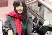 カリスマクルマ女子「おつぽん」さんに遭遇!【東京モーターショー美女めぐり】