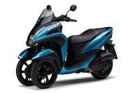 """【新世代3輪バイク】ヤマハ・トリシティ125の2018モデルは見た目も中身も別の意味で""""ブルー"""""""