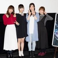 佐倉綾音・日笠陽子『劇場版トリニティセブン』舞台挨拶に初登壇、感慨語る