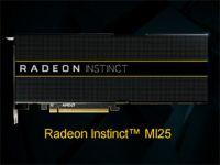 AMD、Vega世代のGPUを搭載した機械学習向けの「Radeon Instinct MI25」