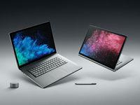 Microsoft「Surface Book 2」発表、デザインそのまま高性能な15