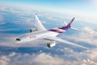 タイ国際航空、エアバスA350を1/17より成田線導入--羽田/関空は2/17~