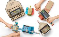 Nintendo Switchと段ボールが合体! 組み立てて遊ぶ「Nintendo Labo」