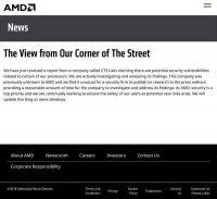AMDプロセッサに新たな脆弱性か