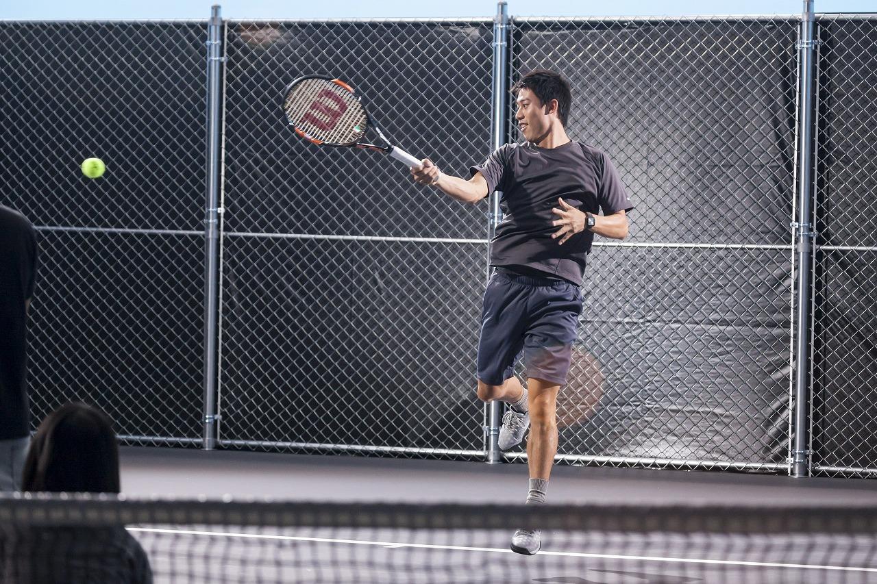 プロテニスプレイヤー『錦織 圭選手』初のヘアケアCM 錦織選手がヘディング披露!! 「エア・ケイ」など錦織選手の魅力が満載