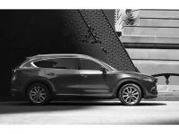 マツダ、3列シートの新型SUV「CX-8」の外観画像を先行公開、今秋発売