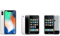 iPhoneは10年間でどう変わったか。「電話を再発明」した初代、日本初登場だった3GとiPhone Xを比較