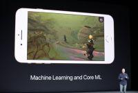 iPhone 8にはアップル独自設計のGPUがA11 Bionicチップとともに載っている、機械学習のためだ