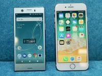 Xperia XZ1 Compact vs iPhone 8、小型高性能スマホの王者はどっち?