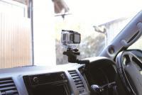 GoPro がドライブレコーダーに?--ビートソニックが専用アタッチメント開発