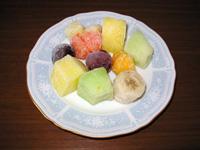 いろんなフルーツを凍らせてみた