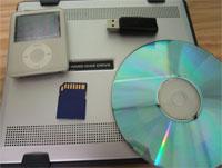 データ保存はどれが安全? HDD、フラッシュメモリ、光ディスク