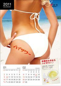 女性にも大人気の2011年版。