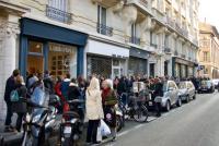 パリ初のジブリ・ショップが開店初日から大人気! 待ち望んだファンで長蛇の列に