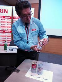 国産最軽量のアルミ缶を開発、キリンの「パッケージング技術研究所」を見てきた
