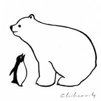 人気イラストレーターのペンギンがキュートないきものと共演!「坂崎千春展 ペンギン百態II」