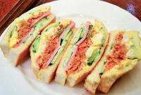 サンドイッチにキムチを挟む大阪の喫茶店に行ってきた