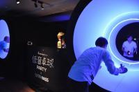 卓球台をトンネル型にすると格段にラリーが難しくなる