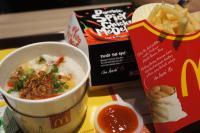 マレーシアのマクドナルドは「おかゆ」がメニューにある