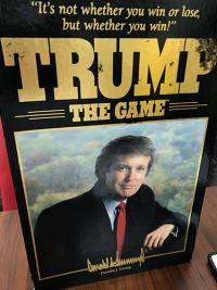 ドナルド・トランプがボードゲームになっていた。「TRUMP THE GAME」が意外に傑作
