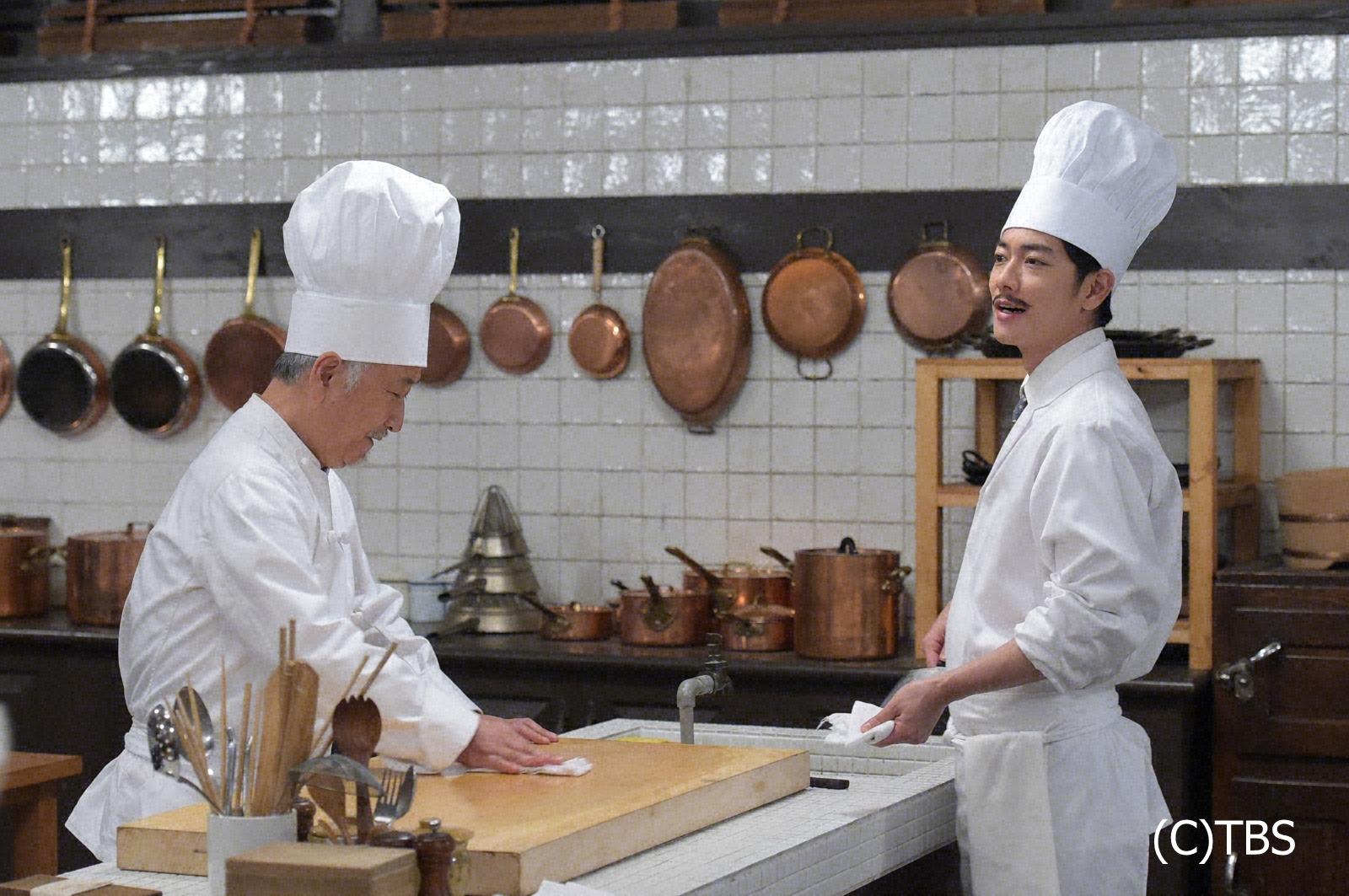 番 天皇 の キャスト 料理