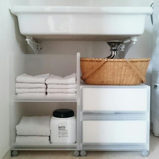 洗面台のこまごま収納に!無印良品のPPケース&ボックス(2018年1月20日) - エキサイトニュース(1/4)