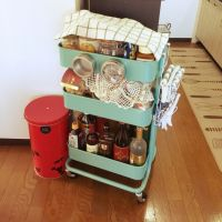 もっと使いこなそう♪キッチンワゴンの整理収納アイデア