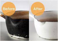 「オセロみたい」鍋の焦げが劇的にキレイになる方法