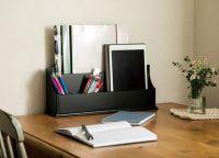 【無印&IKEAの隠れ逸品】デスクが大人っぽくなる、魅惑の収納3選