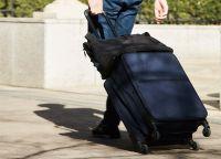 """「半分になる!?」無印良品のソフトスーツケースは""""使わない""""時も超有能なんです"""