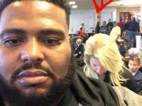 空港で人種差別を受けた黒人男性、返した一言に周りは拍手喝采