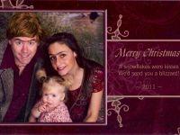 ある家族のクリスマスカード、毎年インパクトが強すぎて爆笑必至