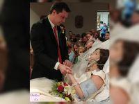闘病中の女性、亡くなる18時間前に結婚式を挙げる
