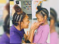 4歳児と同じ髪型でやって来た先生、彼女が教えたかったこととは?