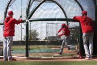 【MLB】大谷翔平がフリー打撃でメジャー2投手と対戦「生きた球を数多く見れた」