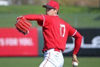 【MLB】25日のエンゼルス初登板へ、大谷翔平が語る胸中「勝ち取っていきたい」