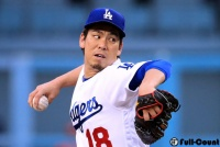 前田健太、復帰登板で5回3失点も自ら逆転2点打! 4勝目の権利持って降板