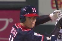 ハム大谷が4打席全出塁、3打数3安打1四球3打点の活躍で打率.357に上昇