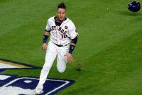 【MLB】WS進出貢献グリエル、古巣DeNAのファンに感謝 中畑前監督との2ショット写真も