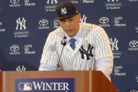 【MLB】スタントンがヤンキース移籍会見、背番号「27」で「人生の新章が始まる」