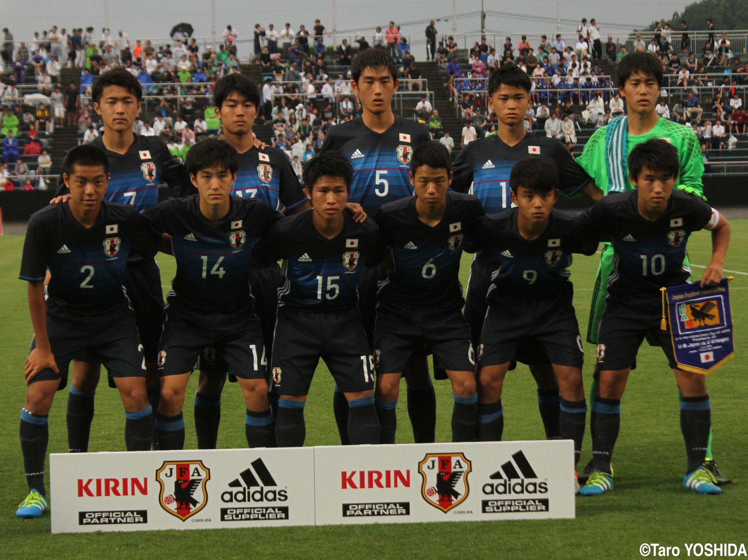 [U-16インターナショナルドリームカップ]U-16日本代表がハンガリーに4発快勝(16枚)