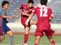 幾度の怪我を乗り越えた福岡大FW山下敬大、大学最後の試合で見せた不屈の2得点